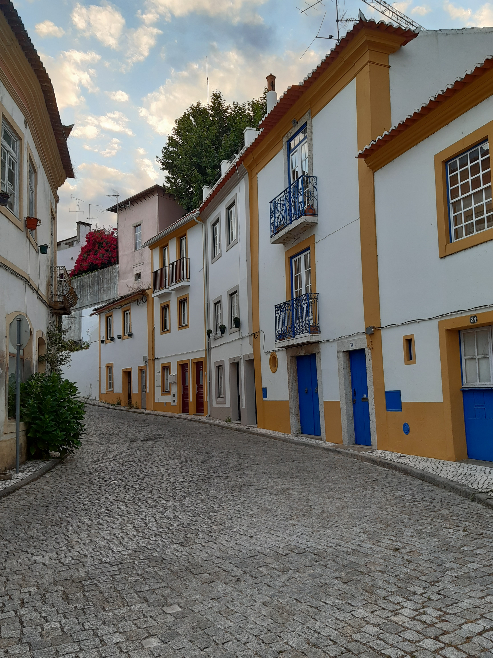 Show a street in Abrantes